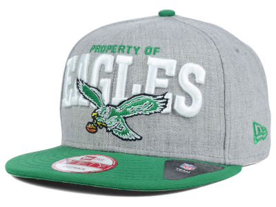 Philadelphia Eagles New Era NFL Property of Snap 9FIFTY Snapback Cap