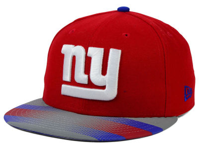 New York Giants New Era NFL Visor Stripe 59FIFTY Cap