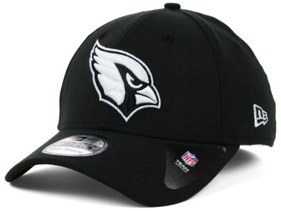 Arizona Cardinals New Era NFL Black White Team Classic 39THIRTY Cap