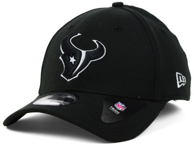 Houston Texans New Era NFL Black White Team Classic 39THIRTY Cap