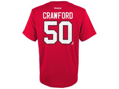 Chicago Blackhawks Corey Crawford NHL Youth Player T-Shirt