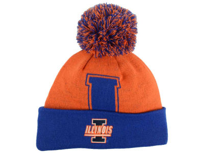 Illinois Fighting Illini Top of the World NCAA Gridiron Knit