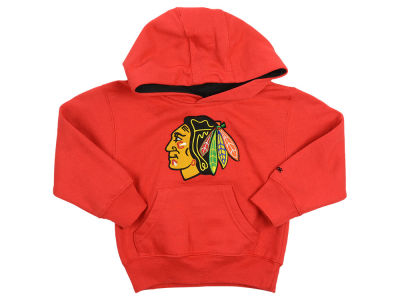 Chicago Blackhawks adidas NHL Toddler Prime Logo Hoodie