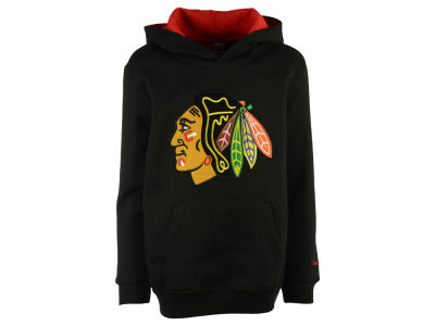 Chicago Blackhawks adidas NHL Youth Prime Logo Hoodie