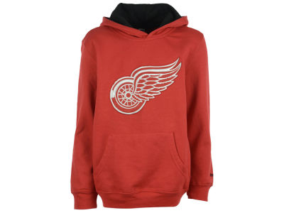 Detroit Red Wings NHL Youth Prime Logo Hoodie
