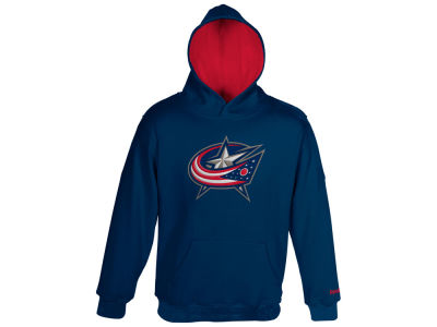 Columbus Blue Jackets adidas NHL Youth Prime Logo Hoodie