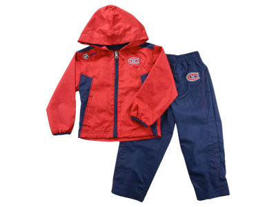 Montreal Canadiens NHL Toddler Full Zip Jacket & Pant Set Outfit