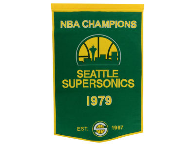 Seattle SuperSonics Winning Streak Dynasty Banner