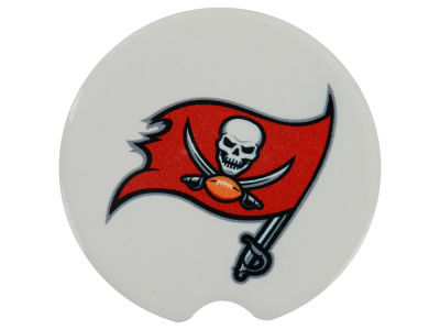 Tampa Bay Buccaneers 2 Pack Car Coasters