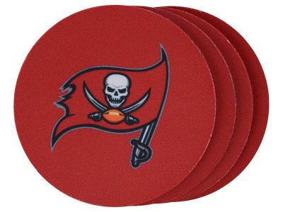 Tampa Bay Buccaneers 4-pack Neoprene Coaster Set
