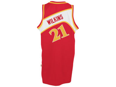 Atlanta Hawks Dominique Wilkins adidas NBA Men's Retired Player Swingman Jersey