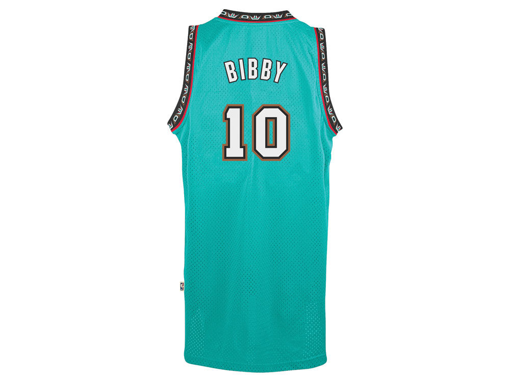 a363ec0ac Vancouver Grizzlies Mike Bibby adidas NBA Men s Retired Player Swingman  Jersey