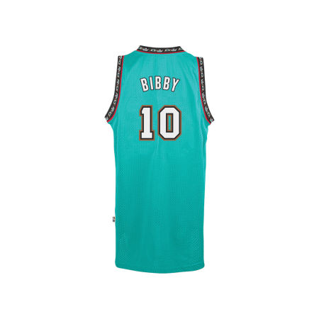 Vancouver Grizzlies Mike Bibby Adidas NBA Men's Retired Player Swingman Jersey
