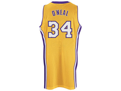Los Angeles Lakers Shaquille O'Neal adidas NBA Retired Player Swingman Jersey