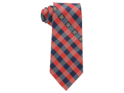 Florida Panthers Polyester Checked Tie