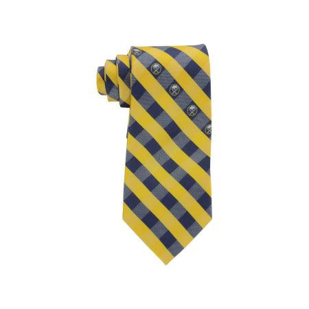 Buffalo Sabres Polyester Checked Tie