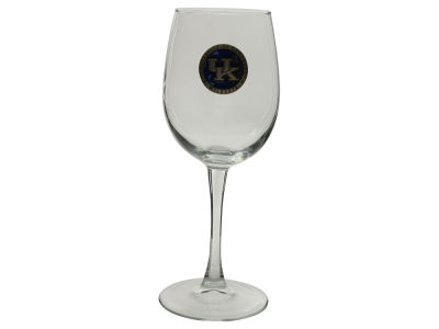 Kentucky Wildcats Pewter Wine Glass