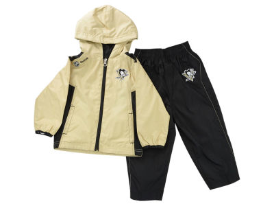 Pittsburgh Penguins NHL Kids Zip Jacket & Pant Set