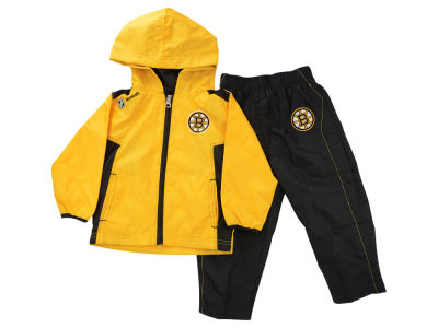 Boston Bruins NHL Infant Zip Jacket & Pant Set