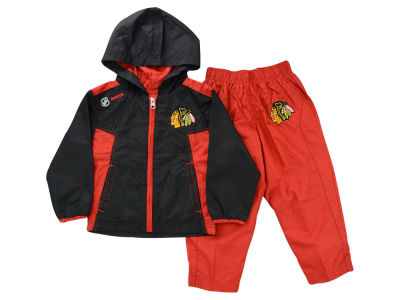 Chicago Blackhawks NHL Infant Zip Jacket & Pant Set