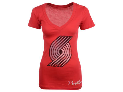 Portland Trail Blazers NBA Womens Custom Vintage T-Shirt