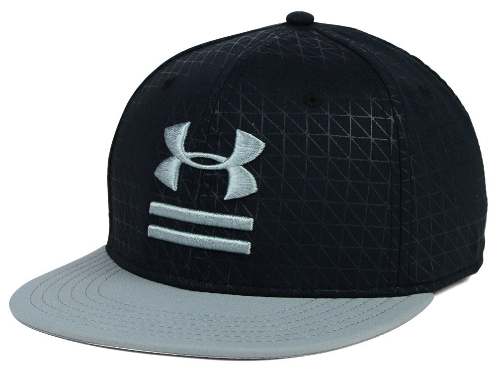 90c79899f50 Under Armour Debossed Flat Brim Cap