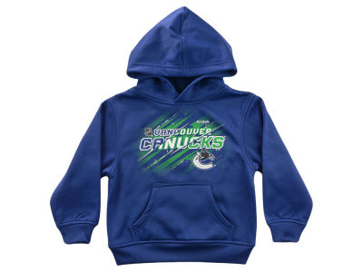 Vancouver Canucks NHL Kids TNT Deflect Performance Hoodie