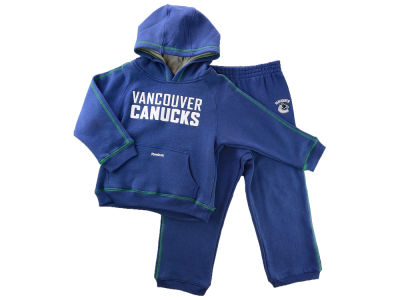 Vancouver Canucks NHL Kids Fleece Hood and Pant Set