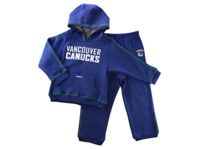 Vancouver Canucks NHL CN Toddler Fleece Hood/Pant Set