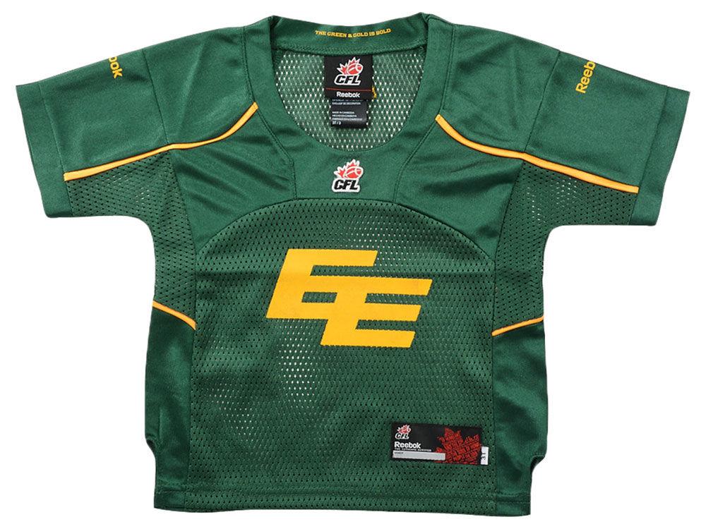 Edmonton Eskimos Reebok CFL Toddler Replica Alternate Jersey  ba400e553