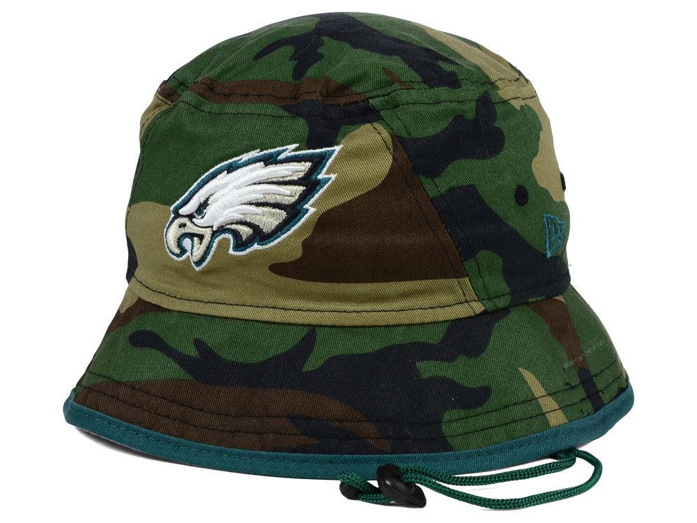 Philadelphia Eagles New Era NFL Camo Pop Bucket  e73232f4e
