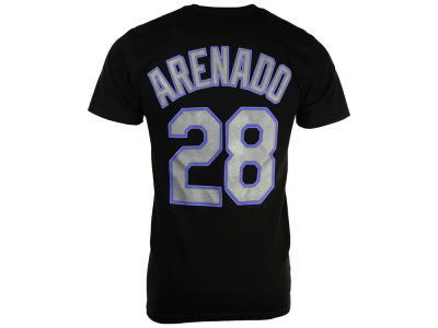Colorado Rockies Nolan Arenado Majestic MLB Men's Official Player T-Shirt