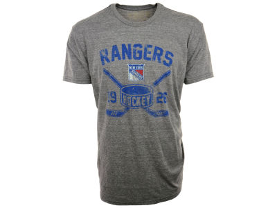 New York Rangers NHL Triblend Streaky T-Shirt