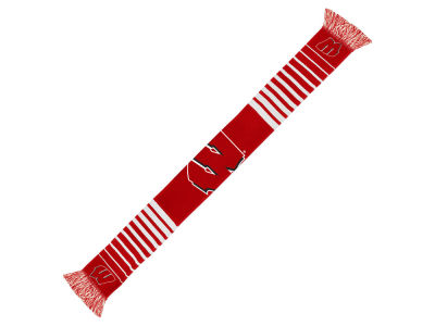 Wisconsin Badgers Acrylic Knit Scarf Big Logo