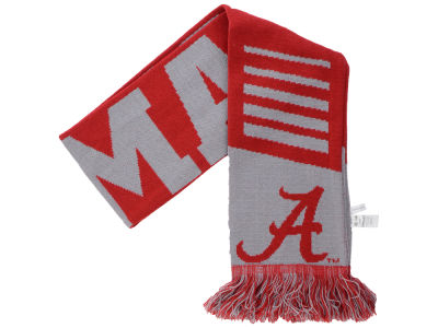 Alabama Crimson Tide Knit Scarf Wordmark
