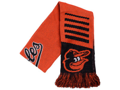 Baltimore Orioles Knit Scarf Wordmark