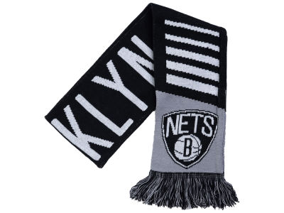Brooklyn Nets Knit Scarf Wordmark