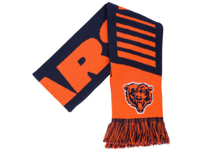 Chicago Bears Knit Scarf Wordmark
