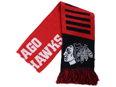 Chicago Blackhawks Knit Scarf Wordmark