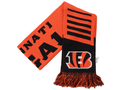 Cincinnati Bengals Knit Scarf Wordmark