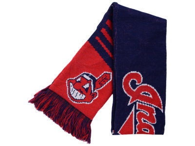 Cleveland Indians Knit Scarf Wordmark