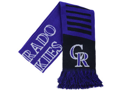 Colorado Rockies Knit Scarf Wordmark