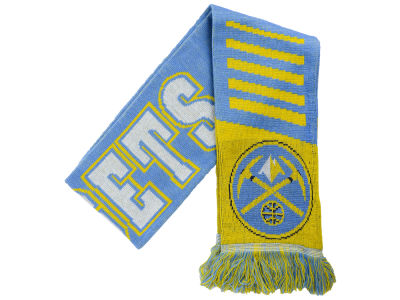 Denver Nuggets Knit Scarf Wordmark