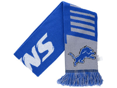 Detroit Lions Knit Scarf Wordmark