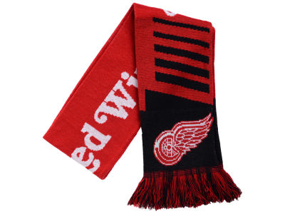 Detroit Red Wings Knit Scarf Wordmark