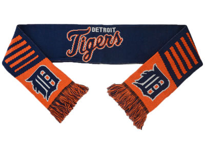 Detroit Tigers Knit Scarf Wordmark