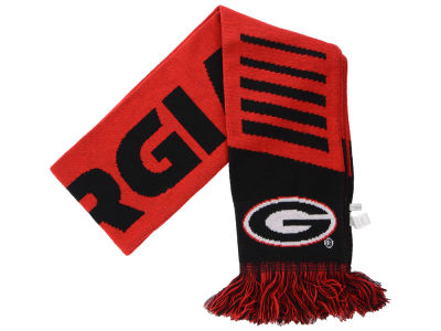 Georgia Bulldogs Knit Scarf Wordmark