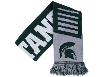 Michigan State Spartans Knit Scarf Wordmark