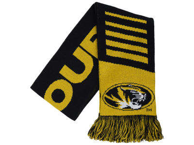 Missouri Tigers Knit Scarf Wordmark