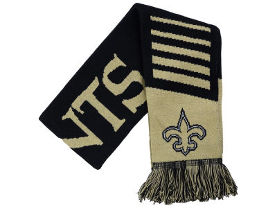 New Orleans Saints Knit Scarf Wordmark